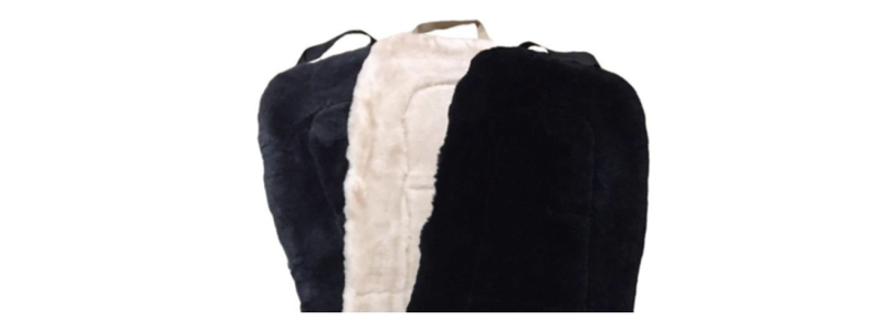Sheepskin Car Seat Covers - Size: OSFM (Not for Bench Seats)