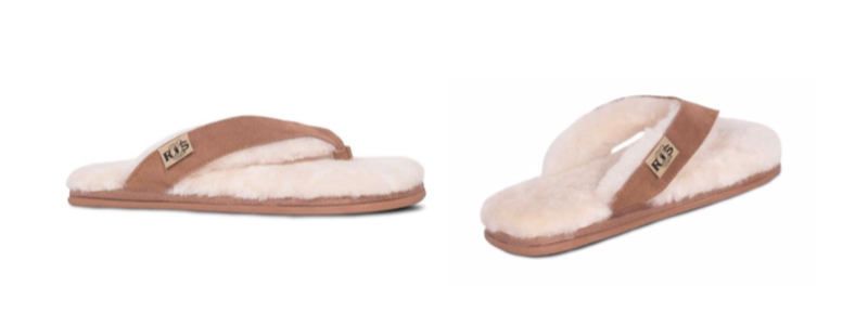 LADIES FLIP-FLOP -- Color: Chestnut -- Sizes: 5-6-7-8-9-10-11