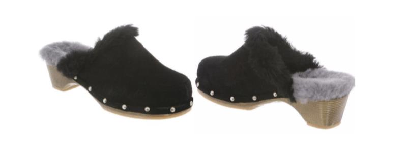 LADIES MONICA CLOG -- Color: Black -- Sizes: 5-6-7-8-9-10-11
