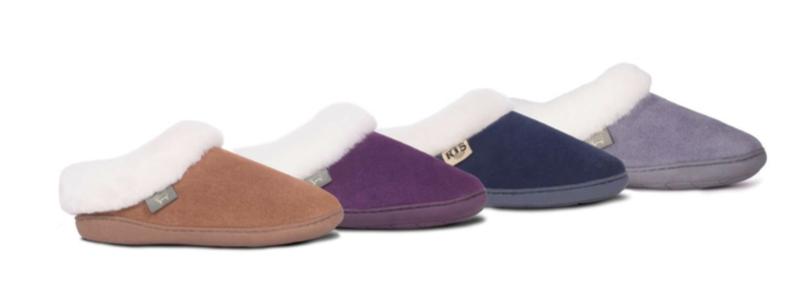 LADIESLADIES SUNRISE CLOG -- Color: Chestnut, Purple, Navy, Grey -- Sizes: 5-16-7-8-9-10-11 SUNRISE CLOG -- Color: Chestnut, Purple, Knit -- Sizes: 5-6-7-8-9-10-11