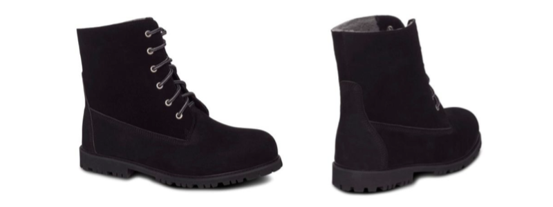 Men's JoJo Boots -- size 9-10-11-12-13-14 -- Color Black with Hard Outdoor Sole