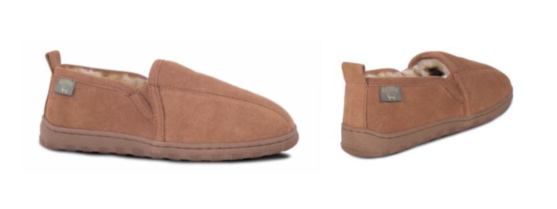 Men's Sheepskin Romeo Loafer slipper -- size 7-8-9-10-11-12-13-14-15-16