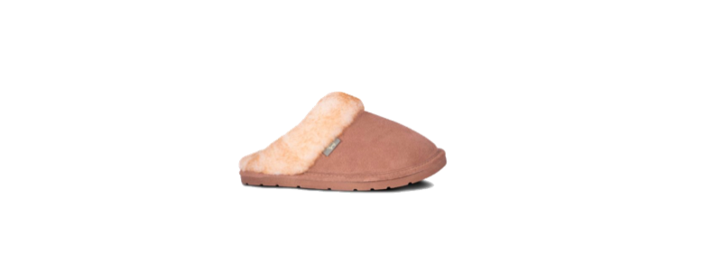 Kid Scuffs - Chestnut - Size 3, 4